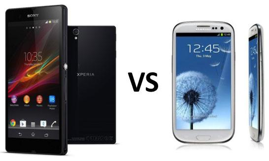 Photo comparative combat XperiaZ versus Galaxy S3