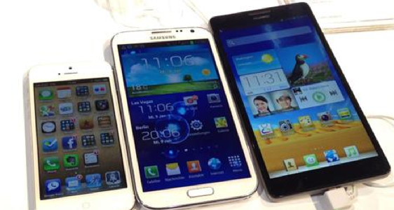 Iphone galaxy S3 et xperia z